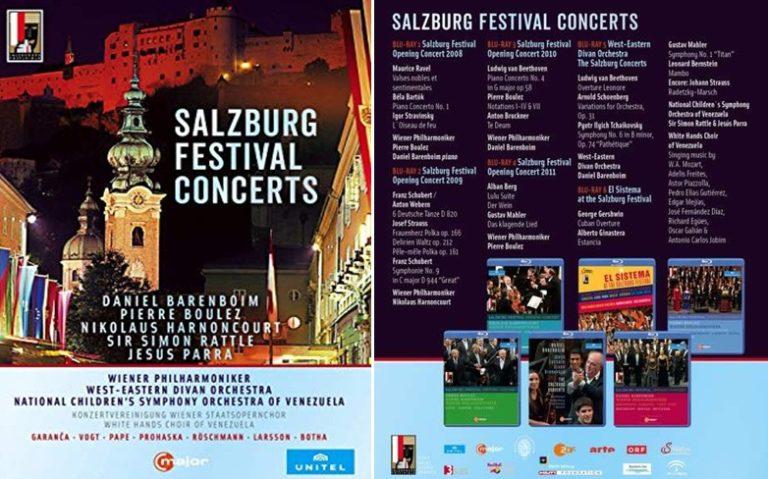Große Interpreten bei den Salzburger Festspielkonzerten