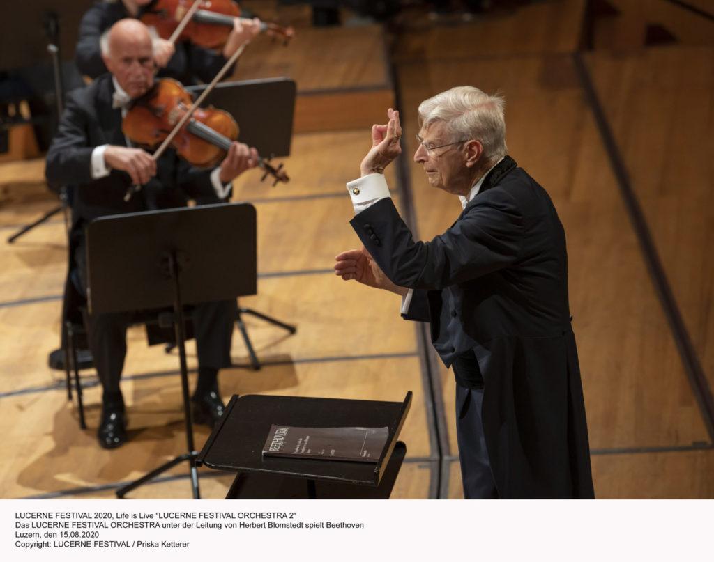 Blomstedt und Beethoven: Zwei alte Meister treffen sich in Luzern