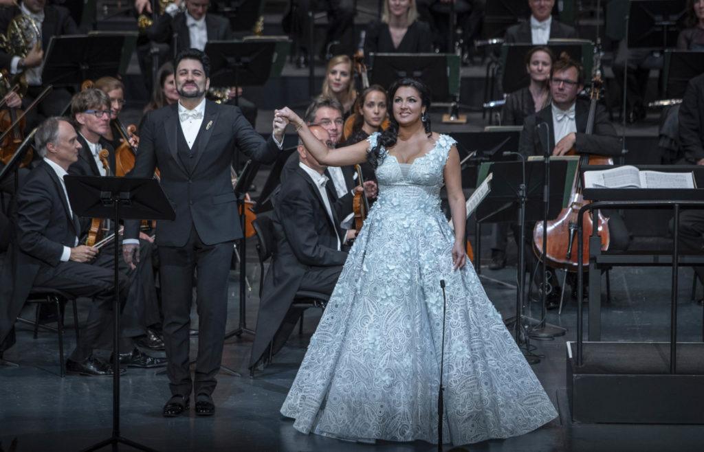 Anna Netrebko und Yusif Eyvazov in Salzburg: Eheglück in concert