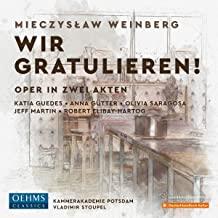 """""""Wir gratulieren!"""" CD-Besprechung: Mieczyslaw Weinberg"""