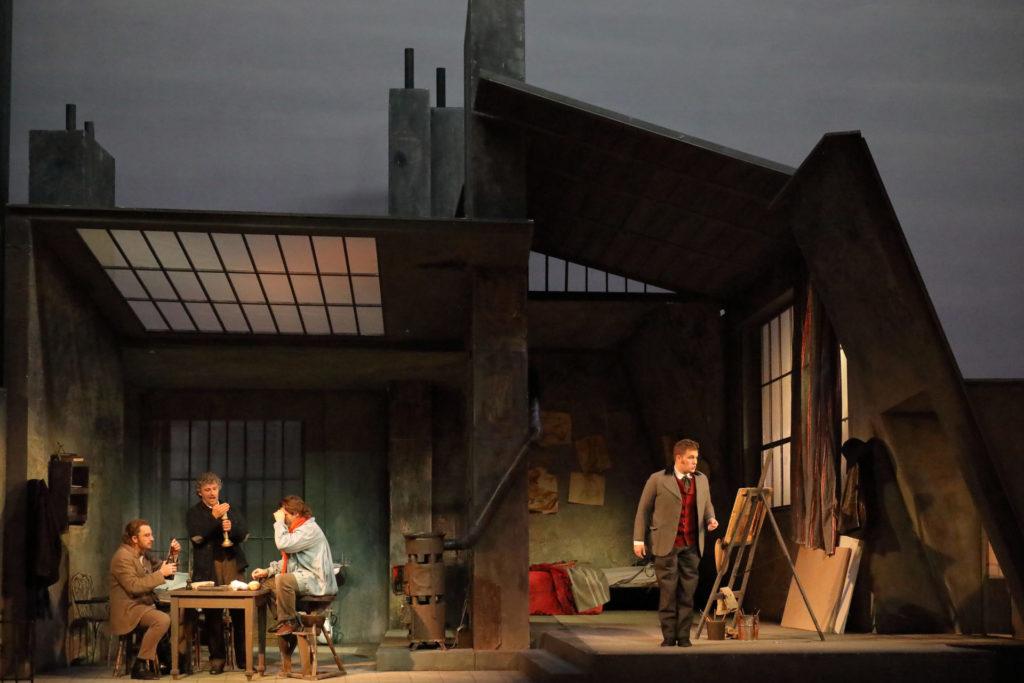 Trockenübung  der Bayerischen Staatsoper: La Bohème im menschenleeren Paris