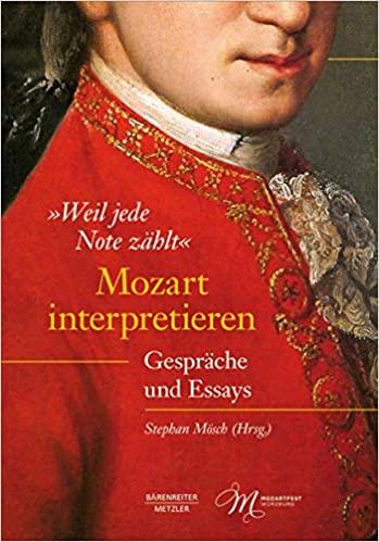 """Buch-Rezension: """"Weil jede Note zählt"""" – Mozart interpretieren"""